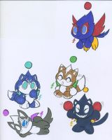 STAR FOX CHAO'S by WhiteFox89