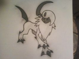 Absol --- Request by Cody2897