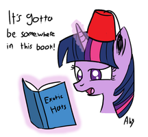 Twilight Sparkle Fez by DatAhmedz