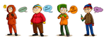 south park lineup by hanshee