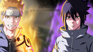 naruto CH 650 - fight together by Gray-Dous