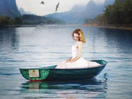 Lady Of The Lake Revisited by Retoucher07030