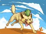 Cactus Wolf by Almy-Nol