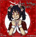 a christmassy nico by Neonbot