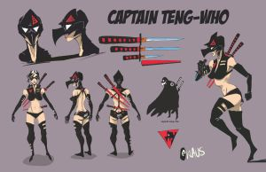 Captain Teng -Who Character Sheet by interstateninja