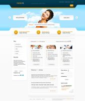 Internet agency, web design by amstaz