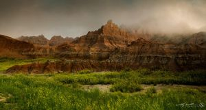 Badlands: Cedar Pass by ProcessedPixels
