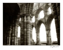 abbey ruins 2 by vcrimson-photography
