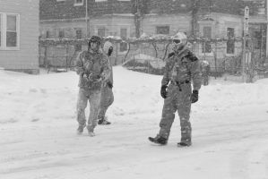 2015 January Blizzard, Snow Football Play 2 by Miss-Tbones