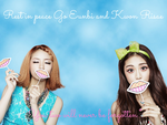 R.I.P Go Eunbi and Kwon Risae by torixyz