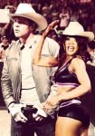 Dean Ambrose and Alicia Fox 4 |Manip| by 2009abc