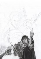 Lord of the Rings WIP 3 by D17rulez