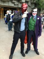 Red Hood and Joker by statenjp