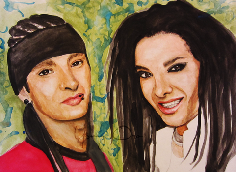 Bill and Tom watercolor by ysmy