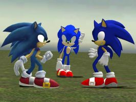 Garry's Mod - Sonic Clones by ReptileMK423