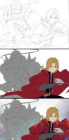 Process - FMA Brothers by Nekozumi