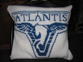 Pillow Case Stargate Atlantis by Mella68