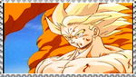 SSJ Goku stamp 2 by VegetasLittleLover