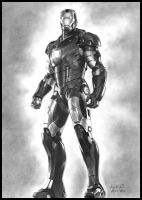Iron Man Mark III by konspiracie
