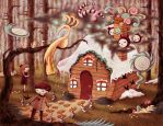Hansel and Gretel by o0Amphigory0o
