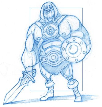 He-Man - Masters of the Universe by KingOlie