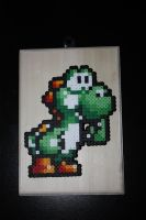 Yoshi Bead Sprite by Neo-Shadow-Bat