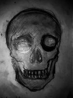 The human skull, with just a touch of evil. by Flower-Panda-Boy