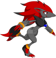 Hypon 1/2 the Zoroark by LucarioShirona