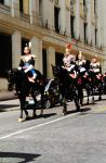 Ceremonial Roman Mounted Guards, Rome 2012 by sebadorn