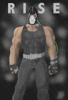 Dark Knight Rises Bane Poster by 8comicbookman8