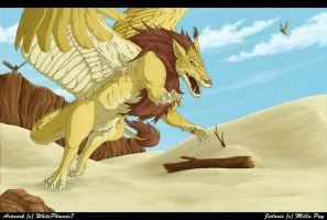 King of the Desert by WhitePhoenix7