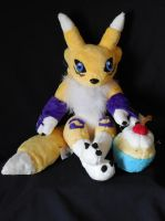 ~*Renamon*~ by PlushPrincess