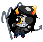 Vriska puff form by Xcoqui