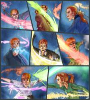 The Fightin' Weasleys by Deisi
