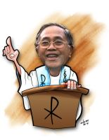 president caricature by aztigart
