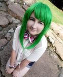 Casual!Gumi- Miss.Megpoid by DreamsOverRealityCos