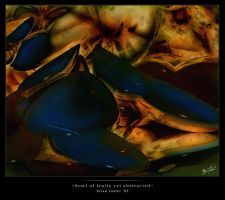 Bowl of Fruits yet Abstracted by brianf