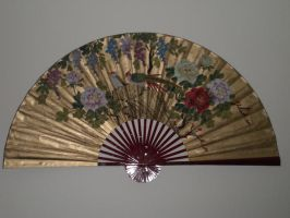 Asian Wall Fan by cerulean-stock