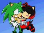 Scourge the hedgehog and me by SSSS4-Ever
