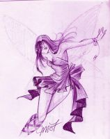 Original - Purple Fairy by Lia-Amari