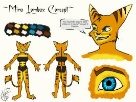 Mira Lombax Concept by The-Caretaker