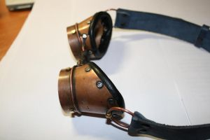 Goggles  metal 2 by Marseau