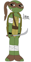 New Turtle Oc - Leon ^^ by AlyssaThePikachu