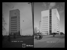 1940's vs 2013, part I by wchild