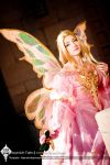 The Pink Masquerade Fairy by Lillyxandra