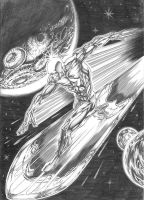 Silver Surfer by Buchemi