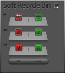 Soft Recycle Bin by vi20RickrMetal12us