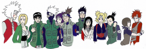 Naruto Pairings Part 1 by Sexual-Greed