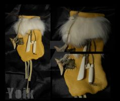 Patched Medicine Bag by Shamans-Yoik