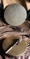 13 Inch Horse Hide Frame Drum by lupagreenwolf